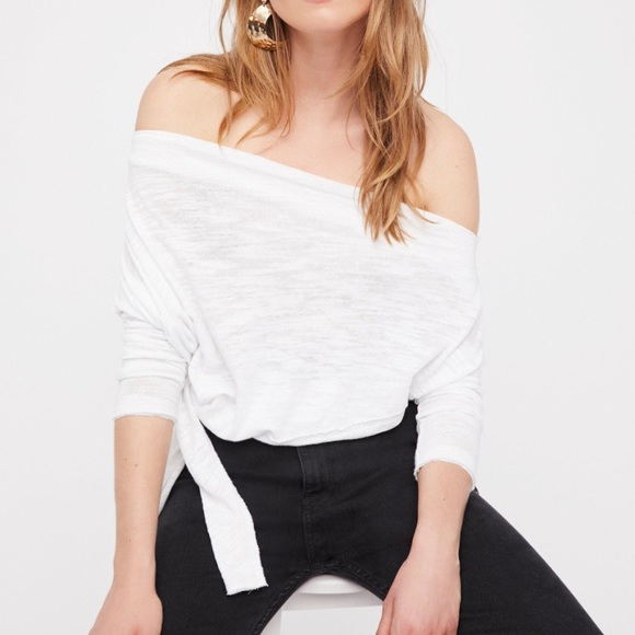 Free People love lane top small white